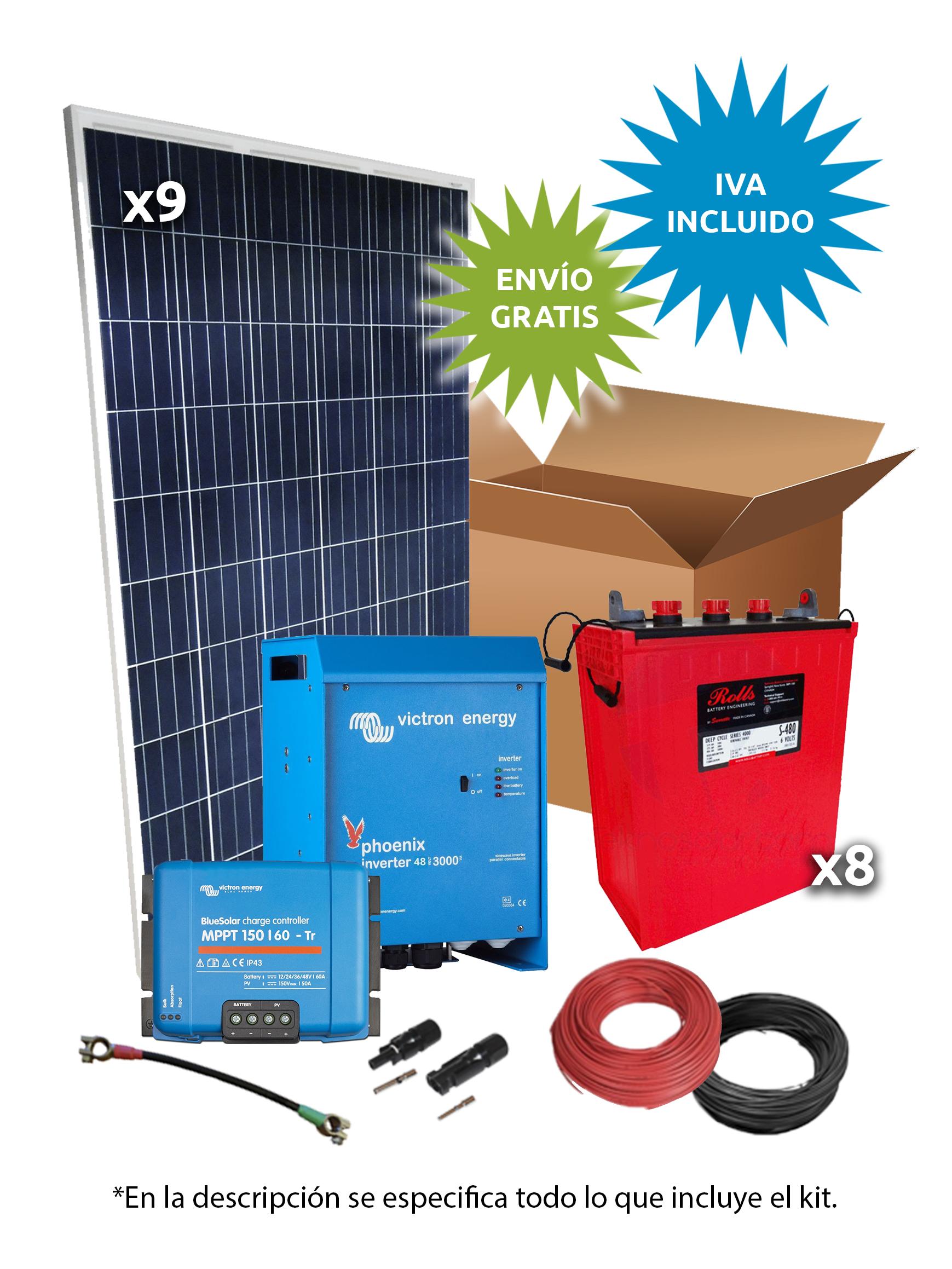 Kit Solar Aislada 2300W