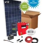 Kit Solar Aislada 3100W