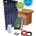 Kit Solar Autoconsumo 2000W