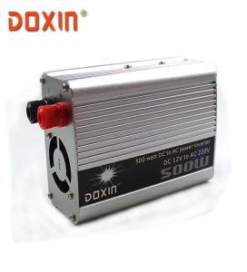 Inversor de corriente para coche DOXIN 500W DC 12V a AC 220V USB