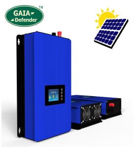 Inversor a red GAIA DEFENDER 1000W con sistema de Vertido Cero y Display LCD