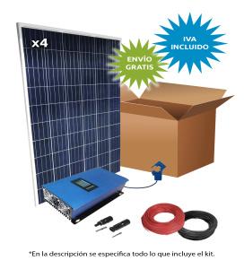 Kit Solar Autoconsumo directo 4400Wh/día V0