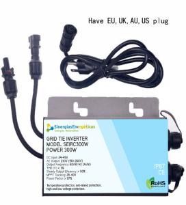 Inversor a red SEIRC 300W Onda Senoidal Pura DC 24-45V AC220V IP67